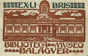 exlibris Balaguer