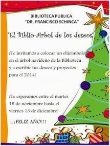 biblio-árbol de los deseos