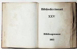 Bibliodiccionari XXV