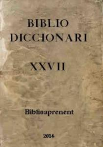 bibliodiccionari XXVII a