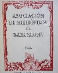 asociación bibliófilos barcelona 1