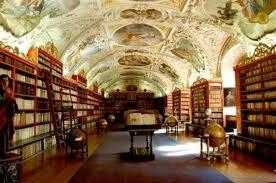 Biblio Strahov Praga