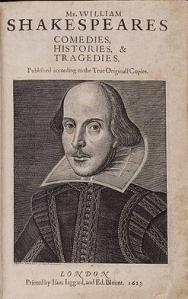 first folio 1 ed 1623