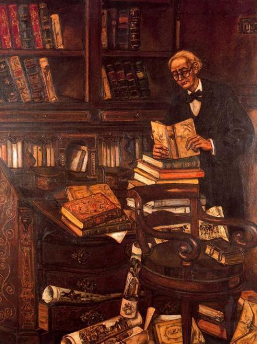 el bibliófilo de Gutiérrez Solana (1886-1945)