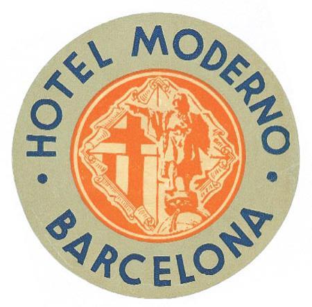 museu virtual hotel moderno barcelona