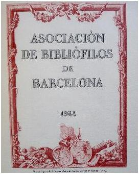 assoc bibliòfils barcelona