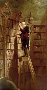 1850 Carl Spitzweg El ratón de biblioteca
