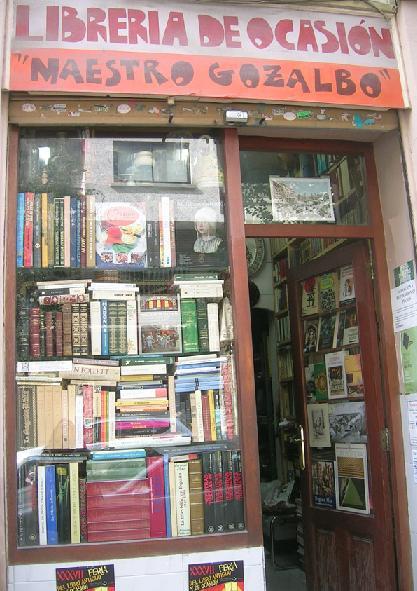 librería ocasión maestro gozalbo vlc