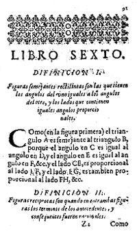 libro sexto euclides 1
