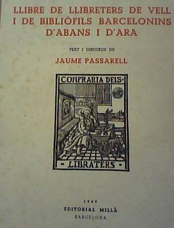 llibre llibreters de vell 1