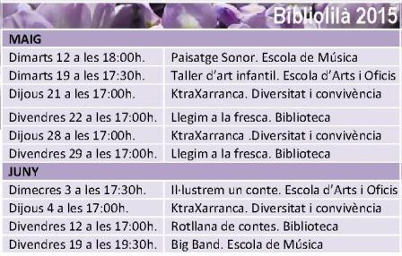 bibliolilà 2015