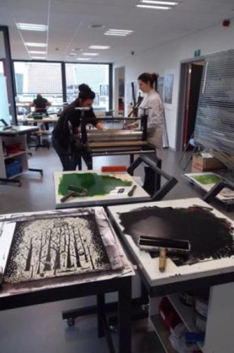 centre de la gravure et de l'Image a La Louvière (B)Imprimée 1