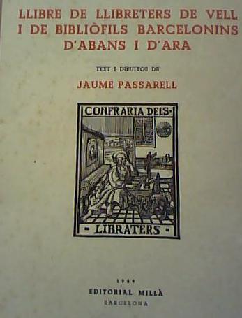 llibre de llibreters