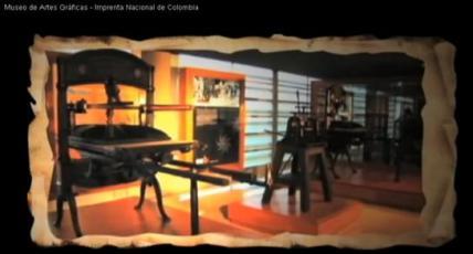 Museu Artes Gráficas a Bogotá