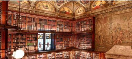 Pierpont Morgan's 1906 Library (NY) a The Morgan Library&Museuml