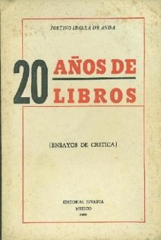 20 años de libros
