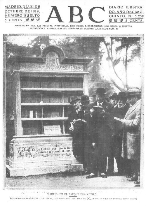 feria libro madrid 1919