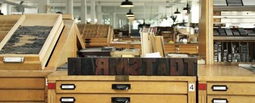 Absteinlung Schriftguss, Satz und Druckverfahren