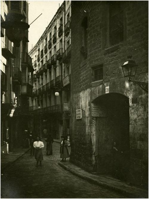 carrer Tapineria ampliació via Laietana 1905