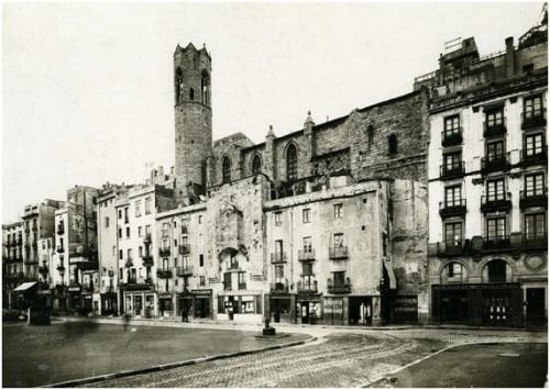 Carrer Tapineria Arxiu Fotogràfic Barcelona 1929 Brangulí