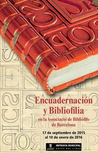 encuadernación y bibliofilia 2
