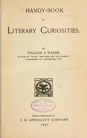 Literary Curiosities