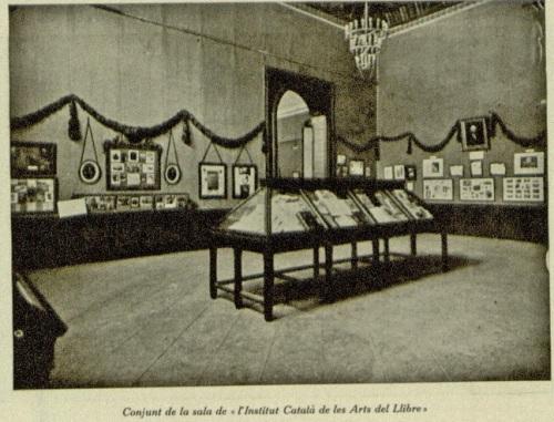 institut català de les arts del libre exposició
