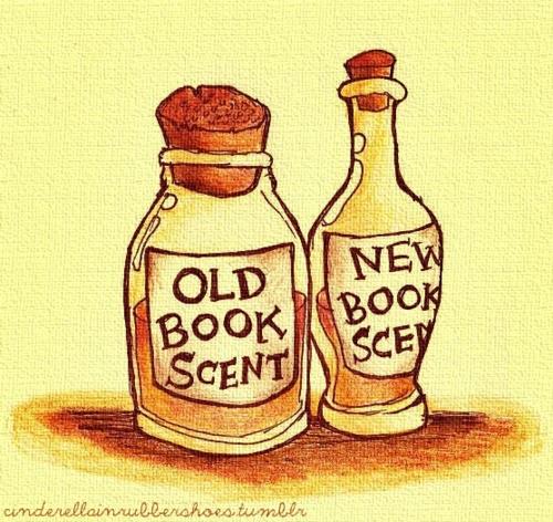 olor de libros