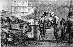 bouquiniste i bibliòfil a paris