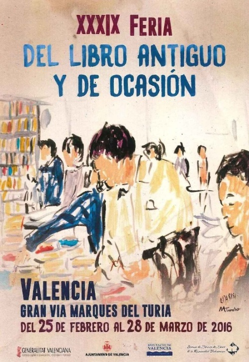 39 feria libro viejo valència 2016