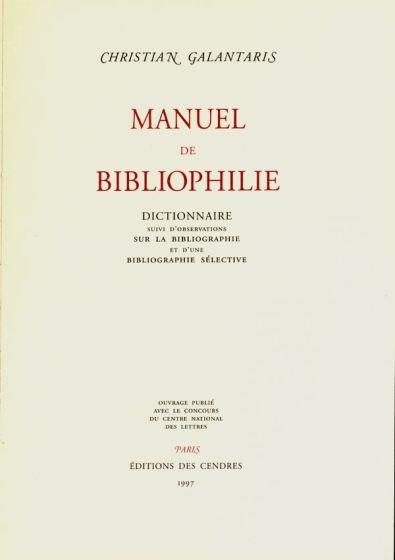 manuaal bibliofilia gaalantaris1